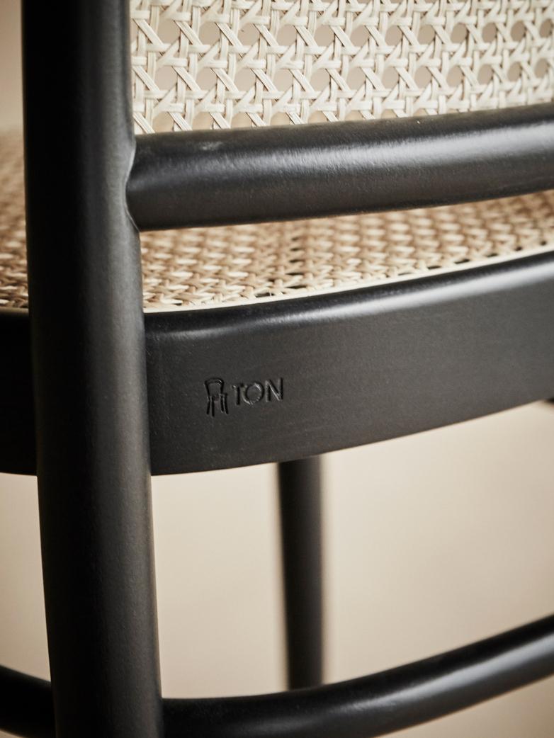 Chair No 811 – Black – Cane