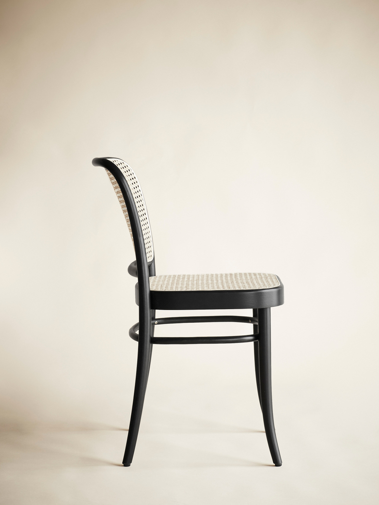 Chair No 811 – Black – Cane