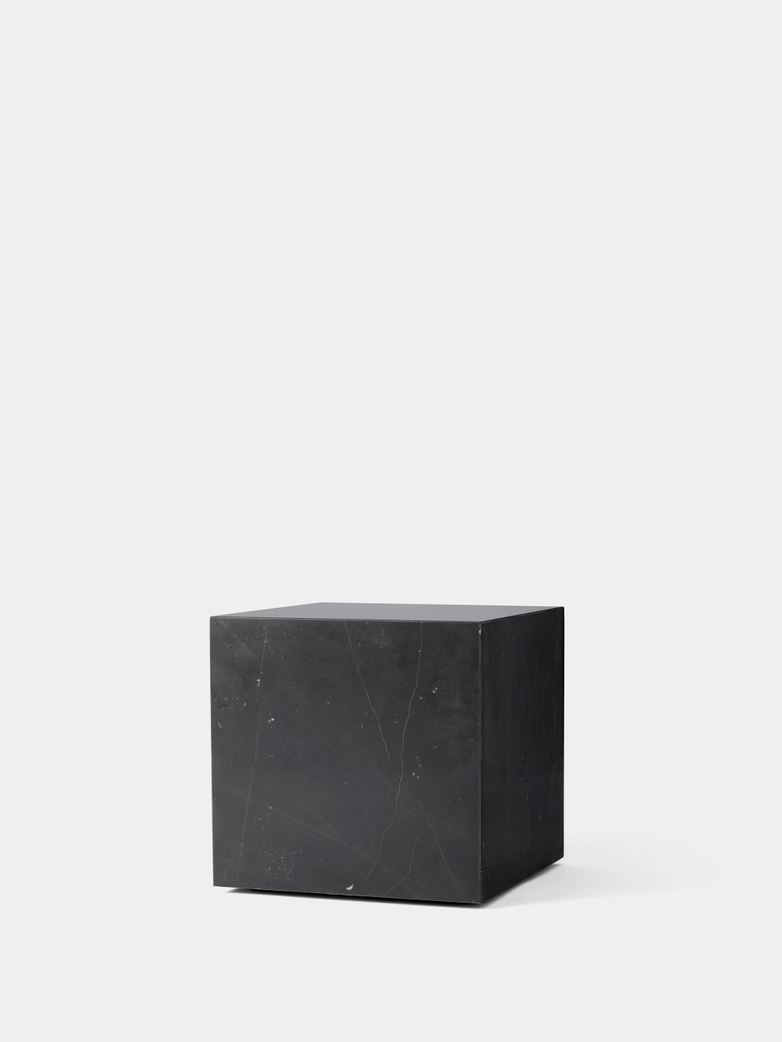 Plinth Cubic - Nero Marquina Marble