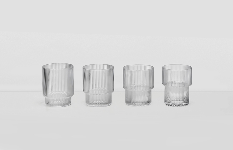 Ripple Glass (set of 4)