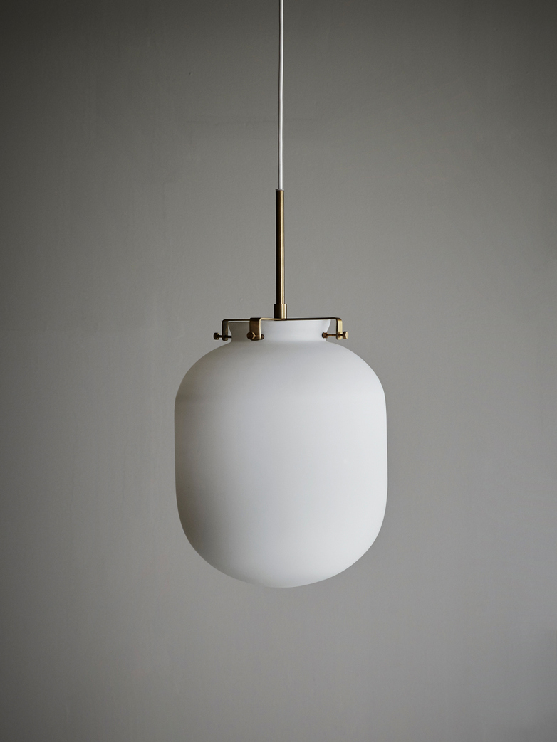 Ball Lamp White