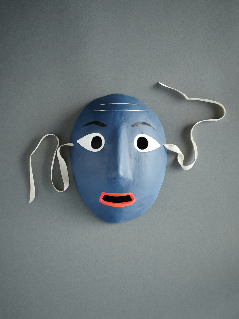 Mood Mask Dark Blue