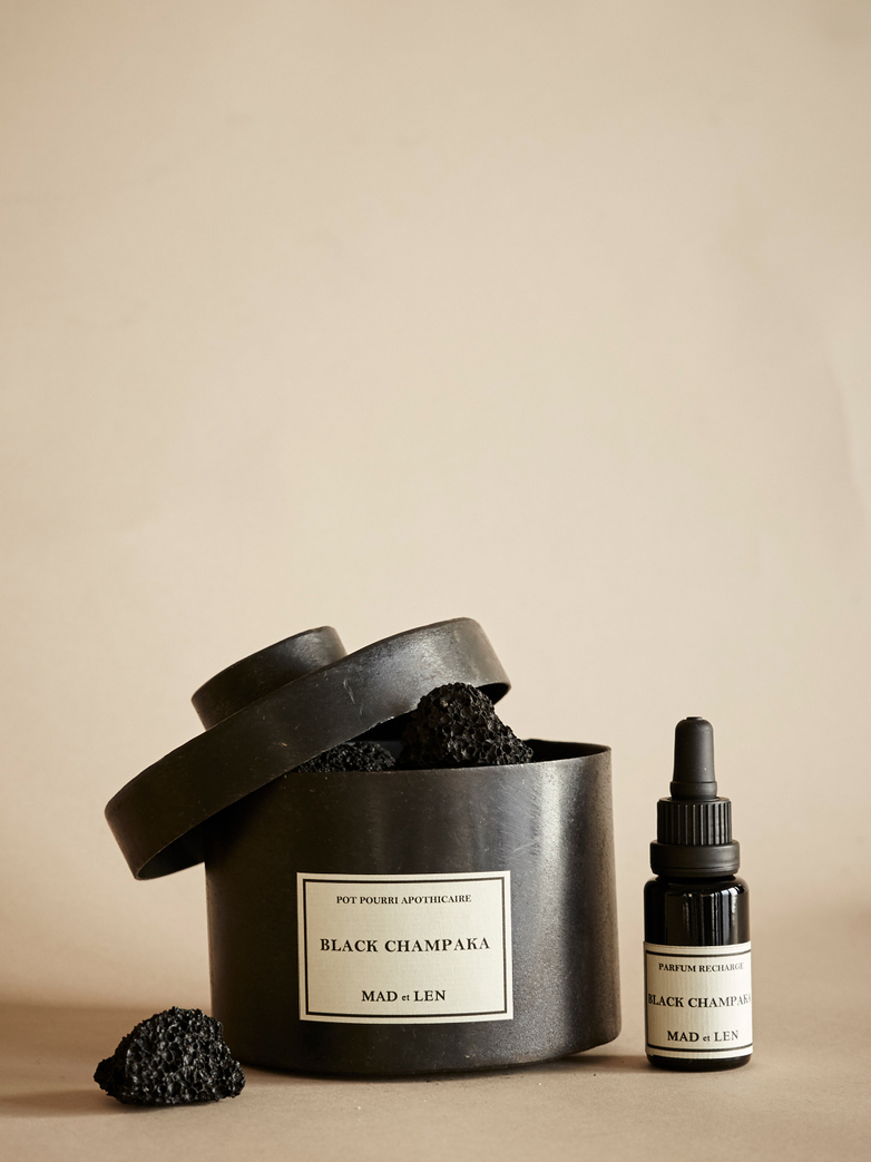 Black Champaka D'Apothicaire - Pot Pourri