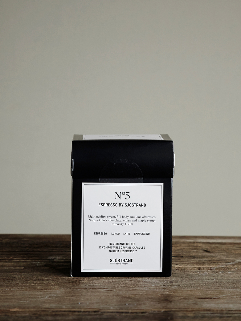 No5 Espresso by Sjöstrand (25-pack)