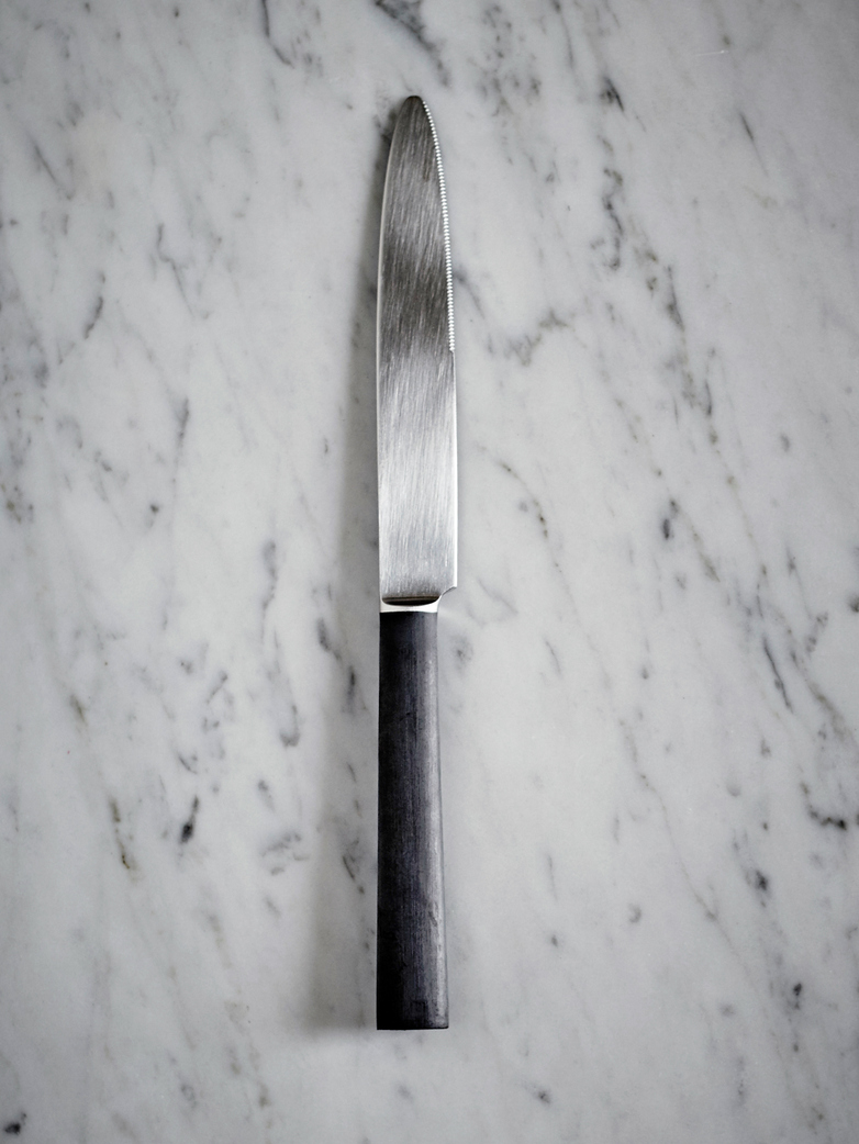 Ebony Dinner Knife