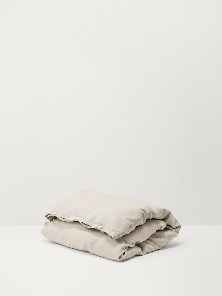 Duvet Cover - Sand Grey - 150x200