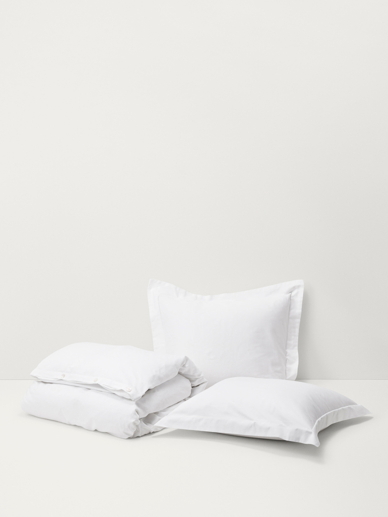 Cotton Sateen - New White