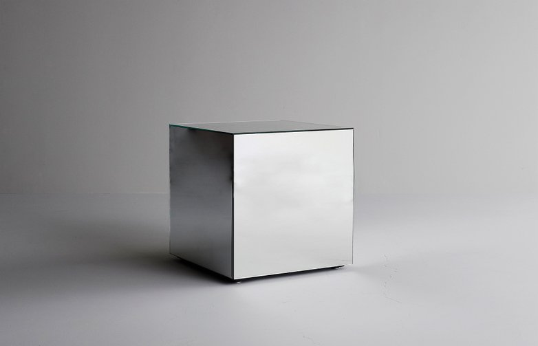 Mirror Mirror Side Table