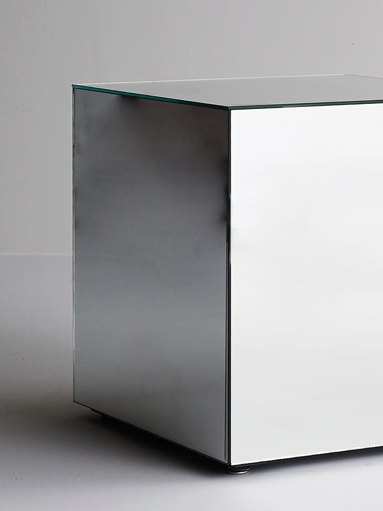Mirror Mirror Side Table