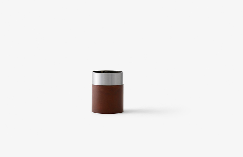 True Colour Vase Brown - Steel Low