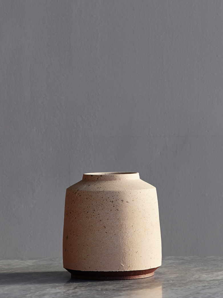Timbre Vase Large Dry Rouge Short