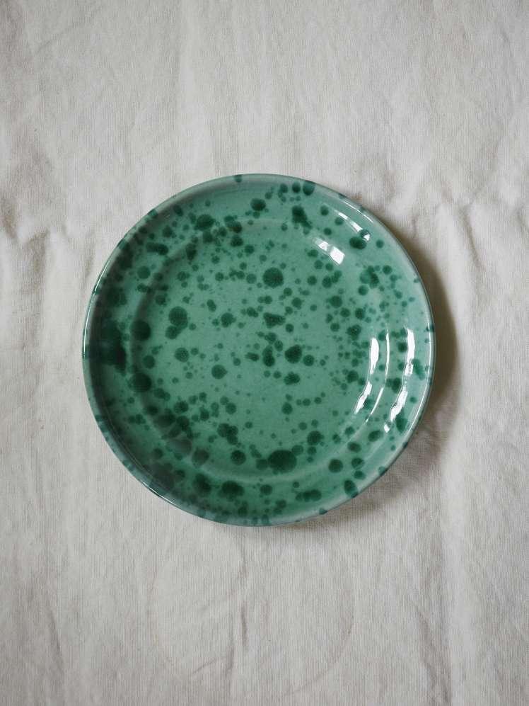 Spruzzi Vivente - Dinner Plate 24 cm - Green