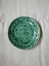 Spruzzi Vivente - Dinner Plate 24 cm - Green on Green