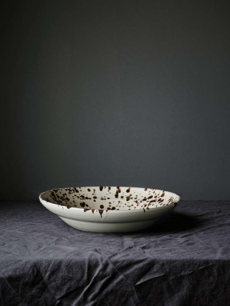 Spruzzi Vivente - Serving Bowl Brown - Medium