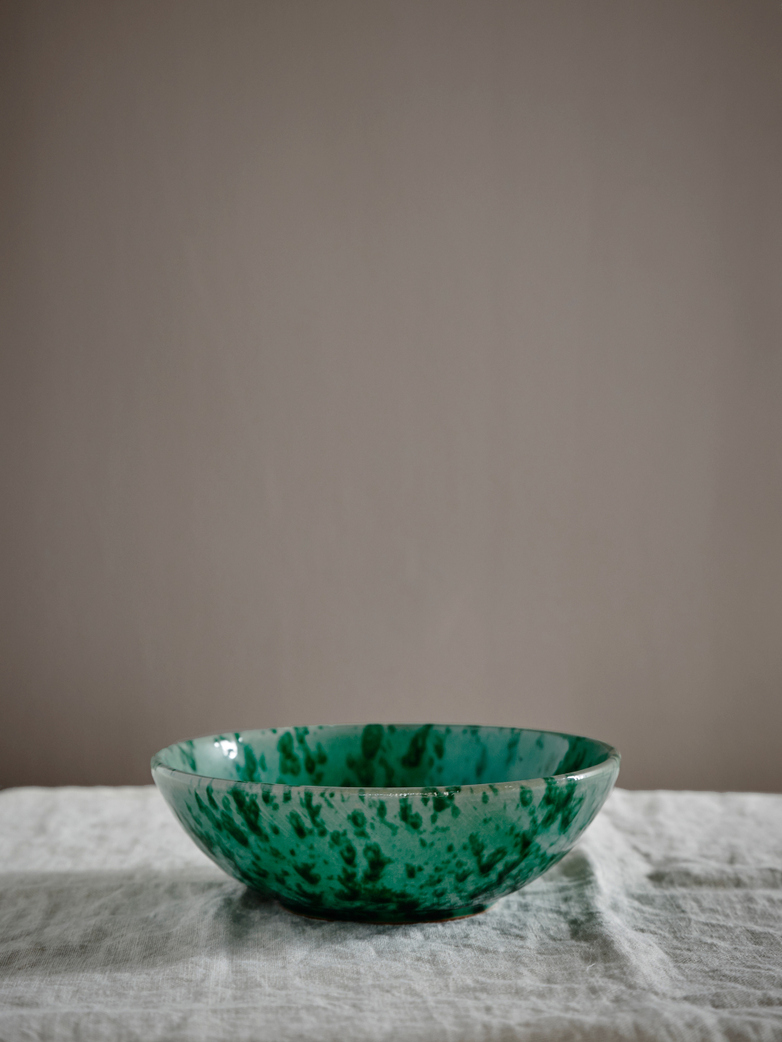 Spruzzi Vivente - Serving Bowl Green - Medium