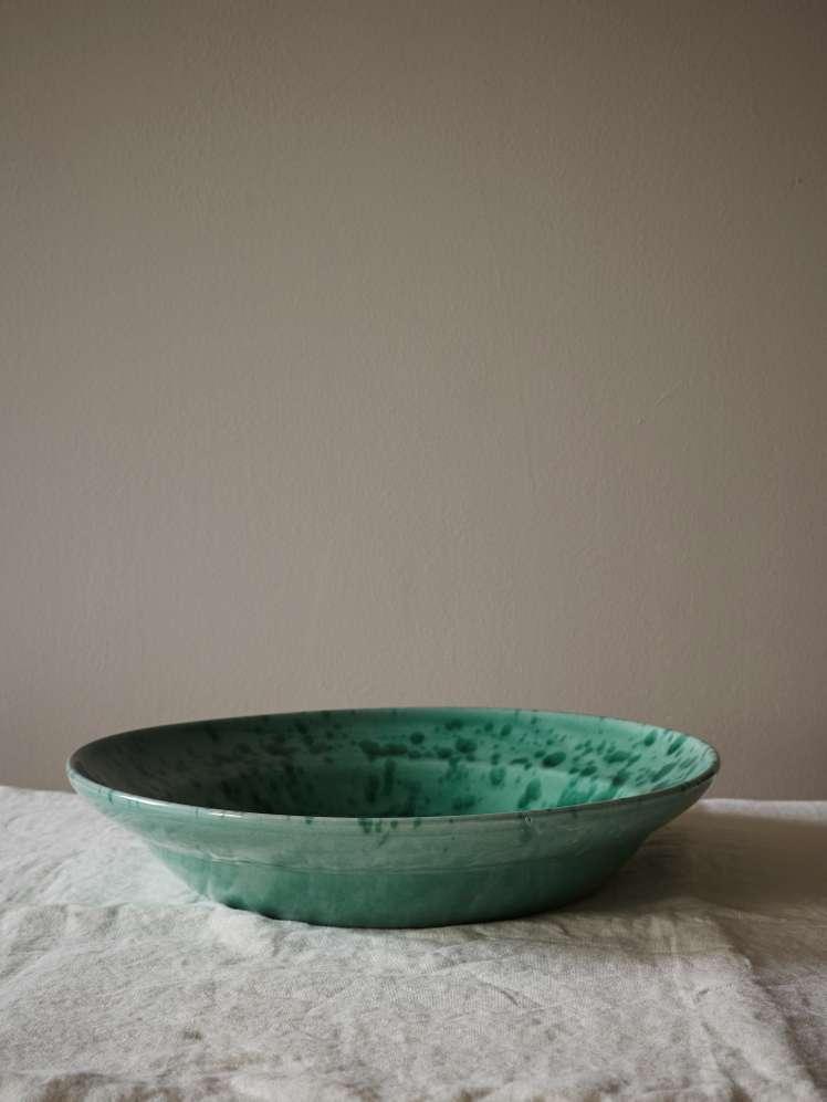 Spruzzi Vivente - Big Serving Bowl - Green