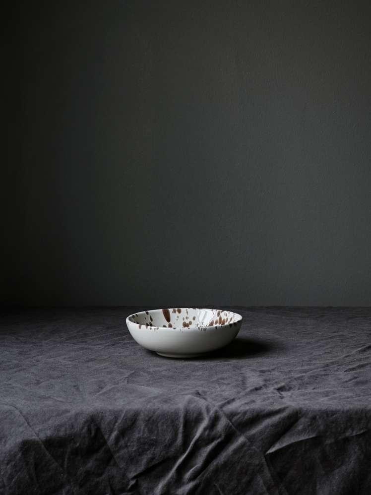 Spruzzi Vivente - Bowl Brown - Small
