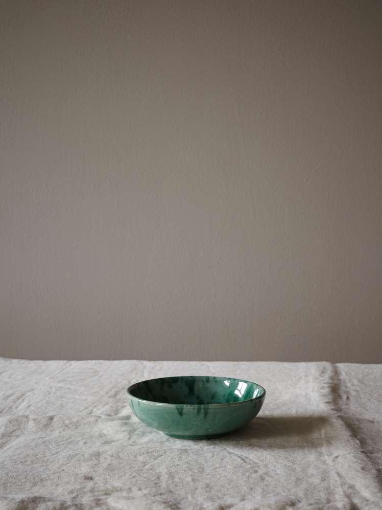 Spruzzi Vivente - Small Bowl - Green