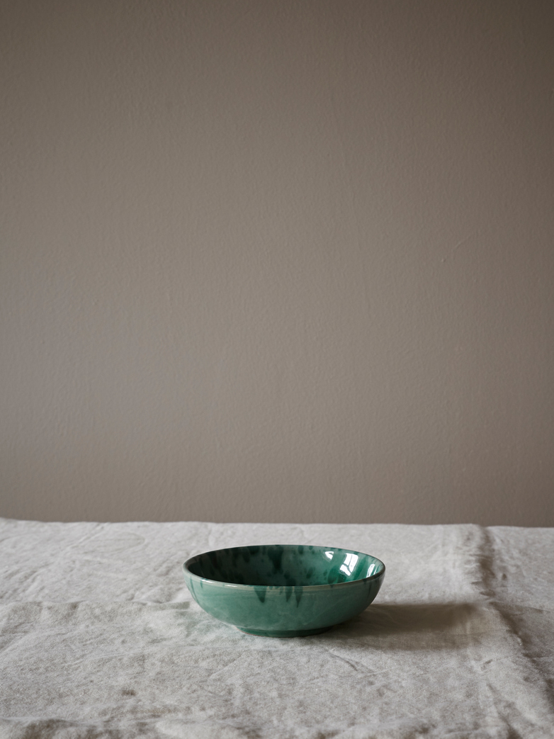 Spruzzi Vivente - Small Bowl - Green