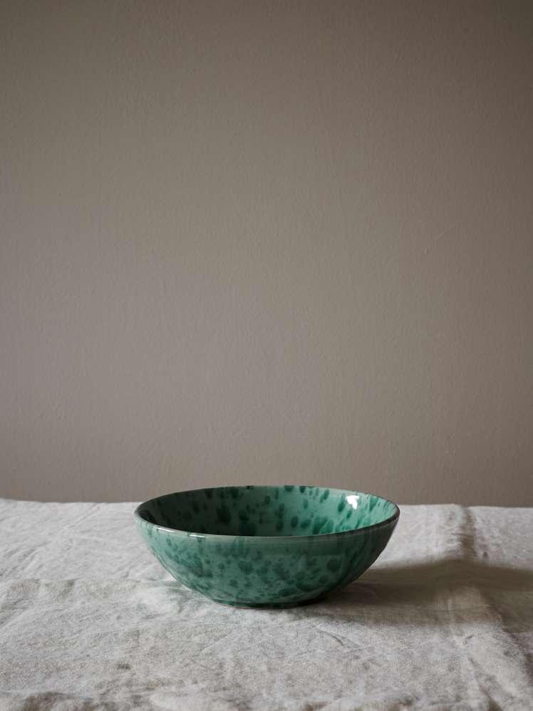 Spruzzi Vivente - Salad Bowl Green - Small