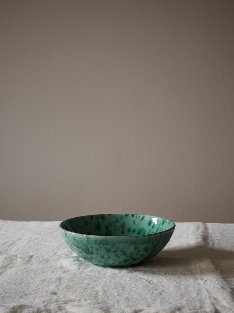 Spruzzi Vivente - Salad Bowl Green - Small