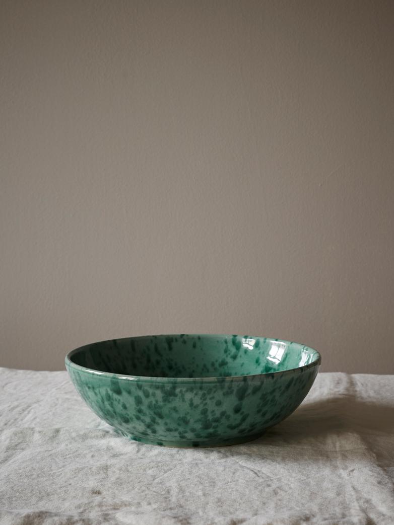 Spruzzi Vivente - Splatter Bowl - Green