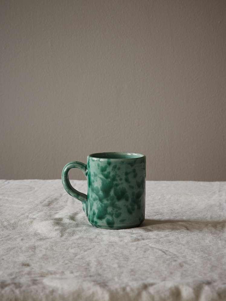 Spruzzi Vivente - Mug with Handle - Green