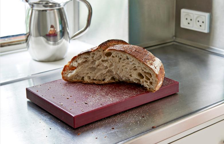 Chopping Board Rectangular M - Bordeaux