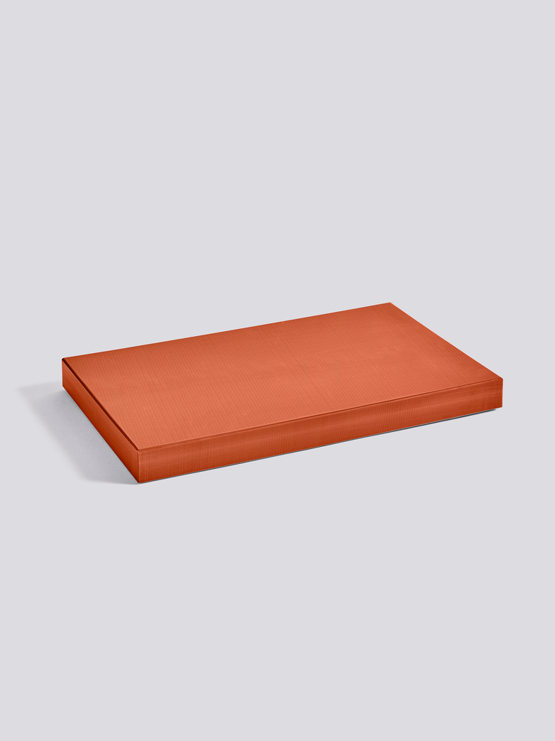 Chopping Board Rectangular - Burnt Orange