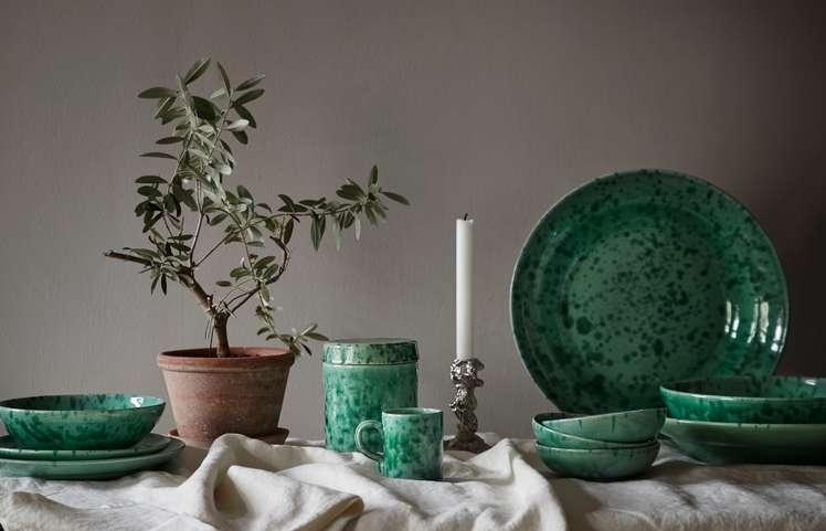 Spruzzi Vivente Collection - Green