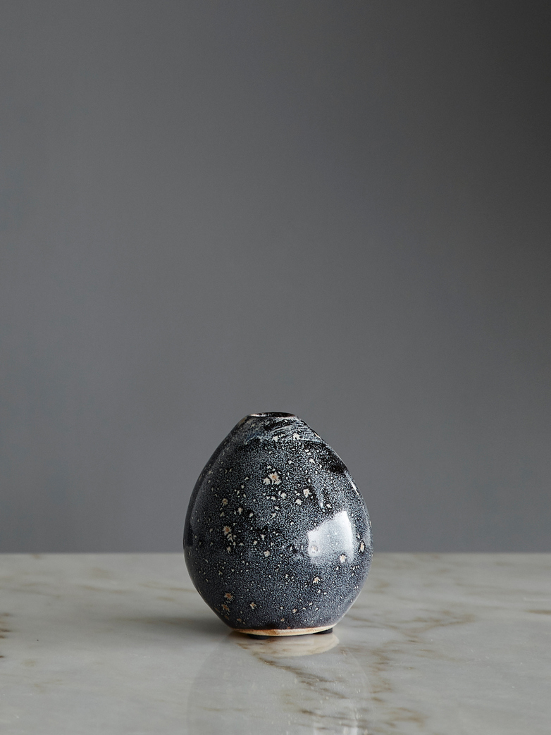 Baby Vase Grey - Blue