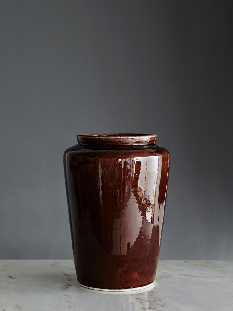 Cone Vase Brown