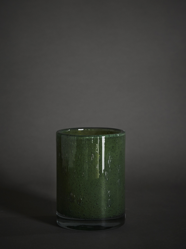 Belle Candle Holder – Moss Green – Medium