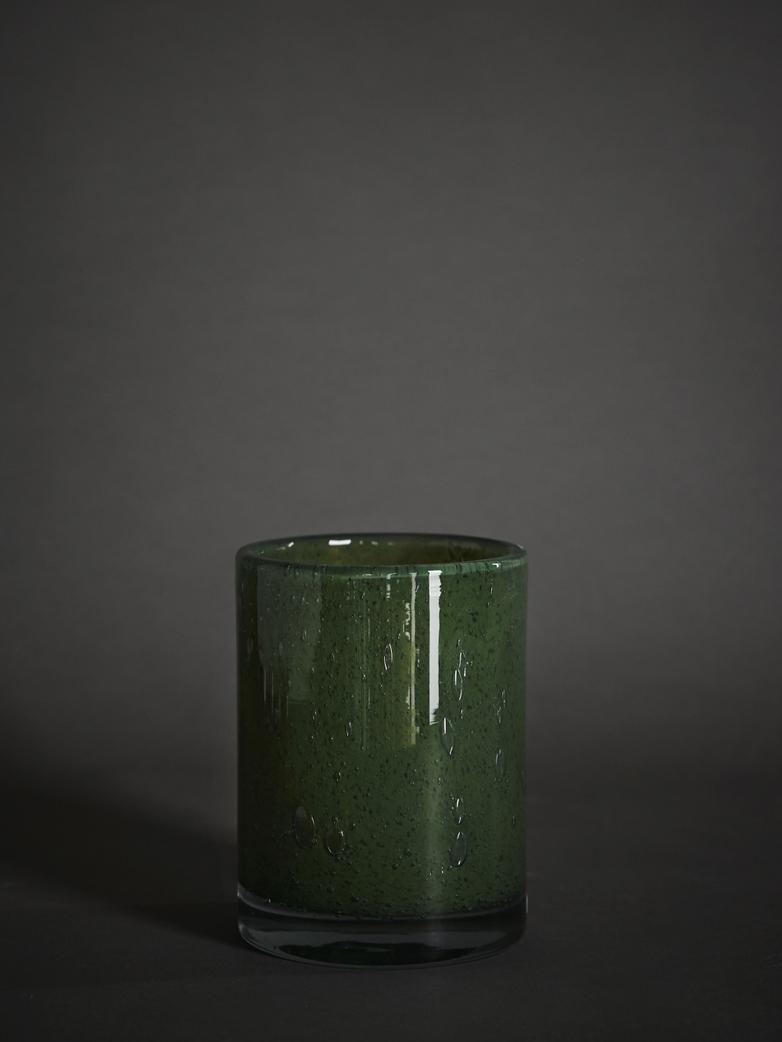 Belle Candle Holder – Moss Green – Medium