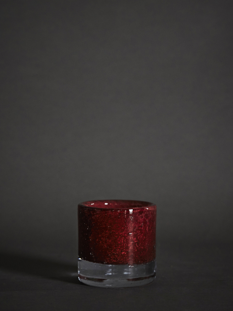 Belle Candle Holder – Claret Red – XS