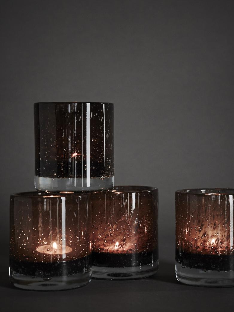Belle Candle Holder – Brunette – Small