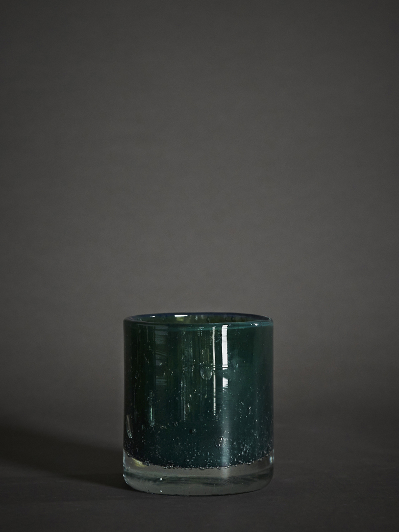 Belle Candle Holder – Moss Green – Small
