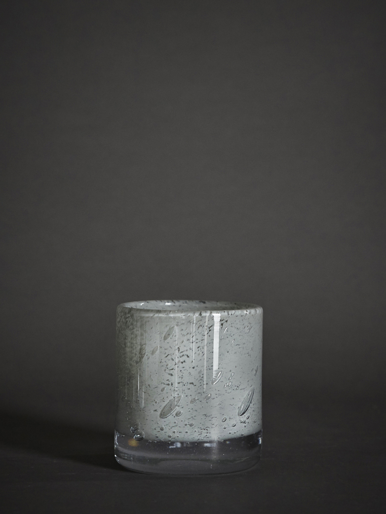 Belle Candle Holder – Light Grey – Small