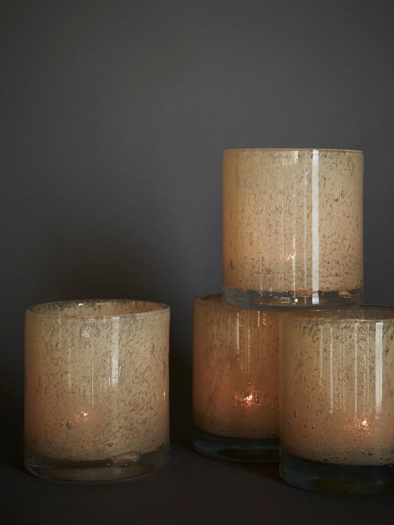 Belle Candle Holder – Brown Beige – Medium