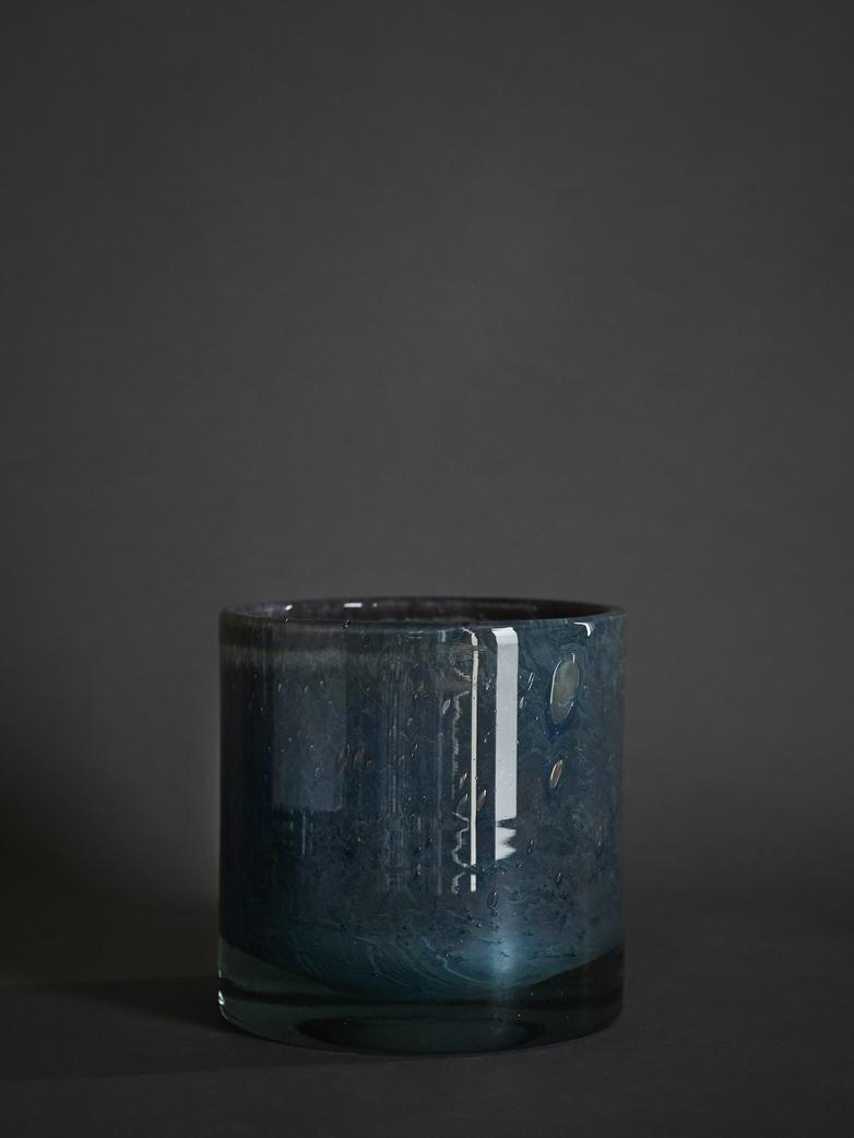 Belle Candle Holder – Lanai Blue – Large