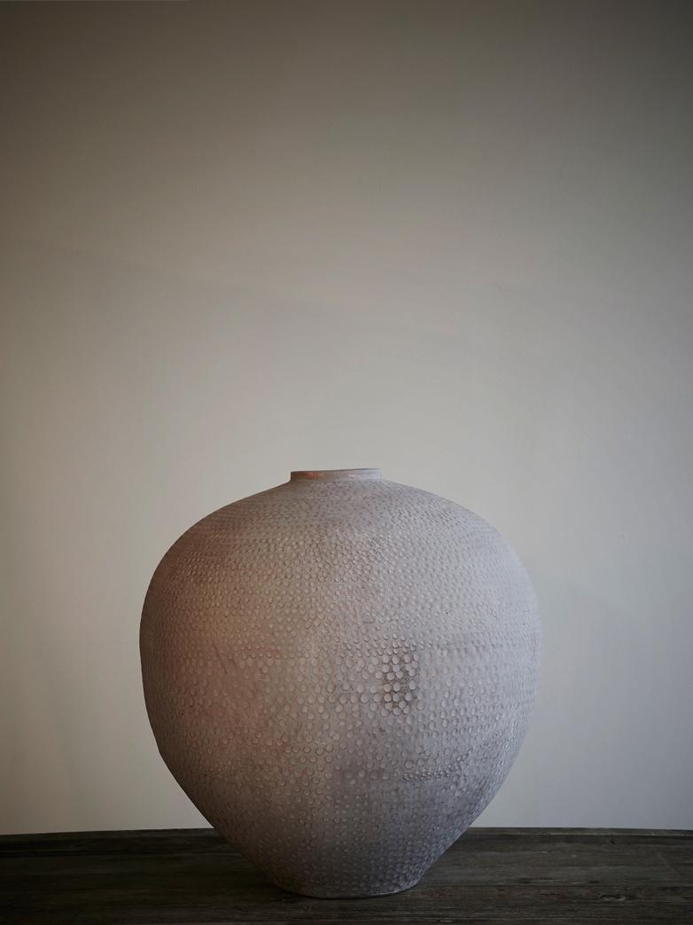 Pondi Vase Terracotta, Large