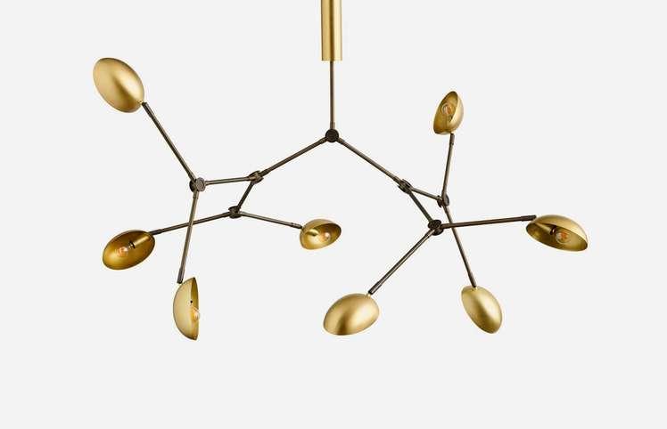 Drop Chandelier – Brass