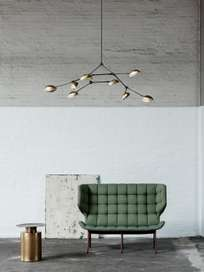 Drop Chandelier – Brass