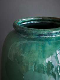 Vase Cph Rim Light Green
