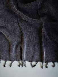Hamam Towel Frame Model 80x160 cm - Black