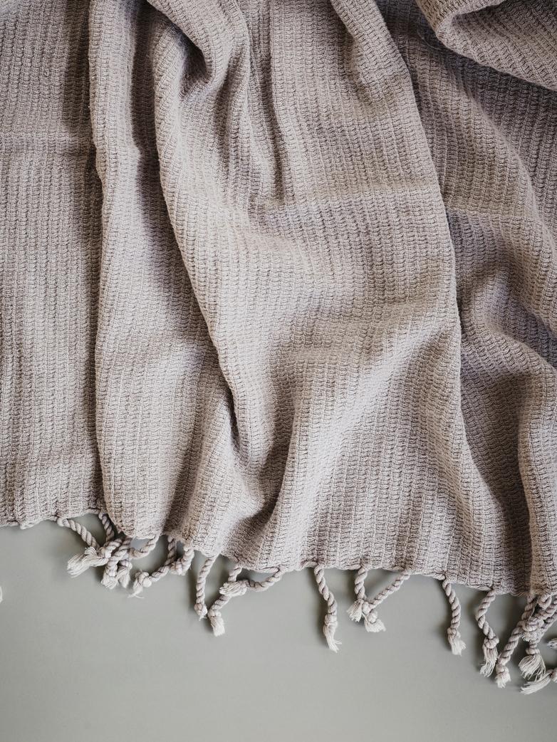 Hamam Towel Frame model 80x160cm Beige