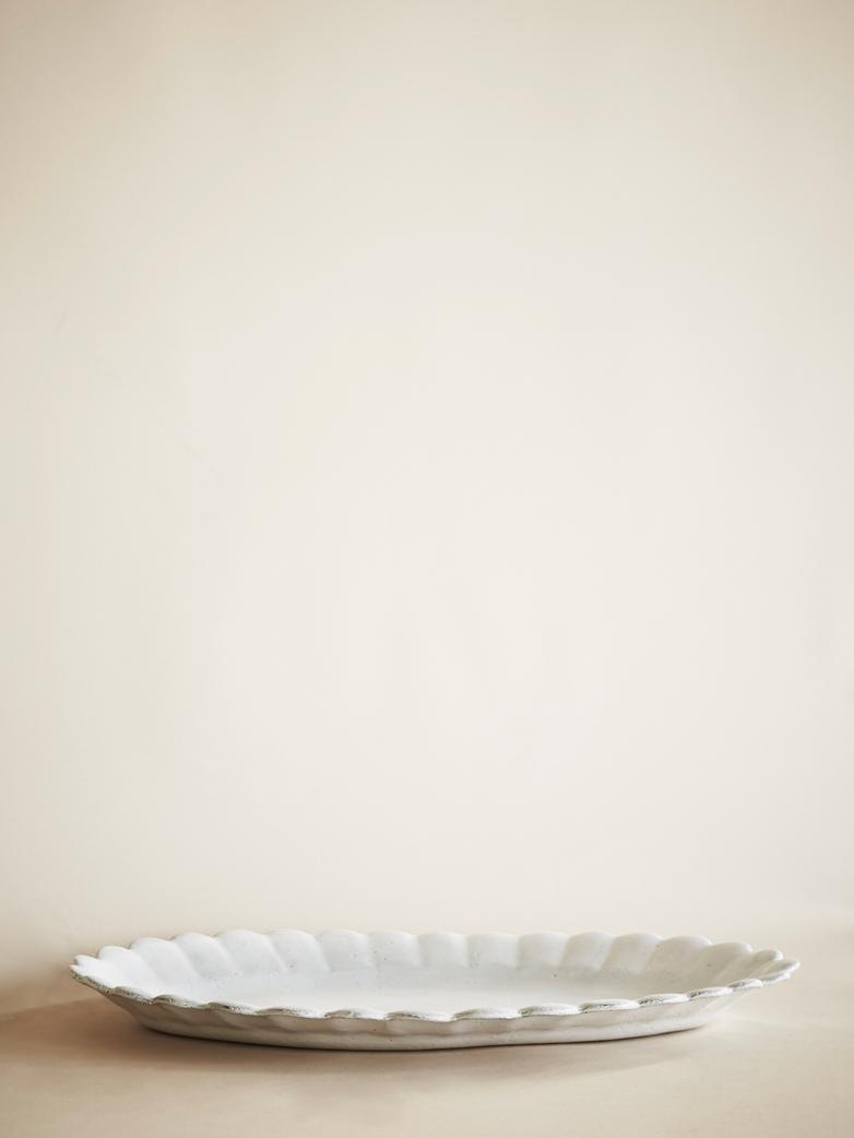 Marguerite Oval Platter