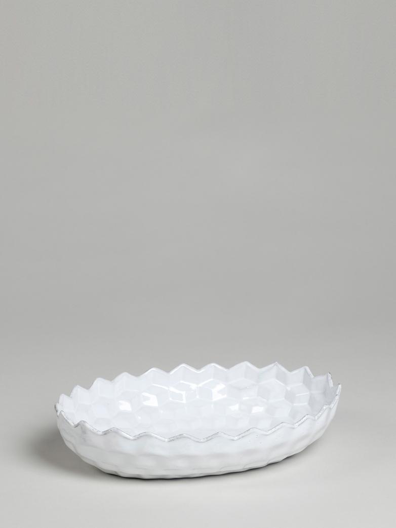 Cube Oval Salad Bowl