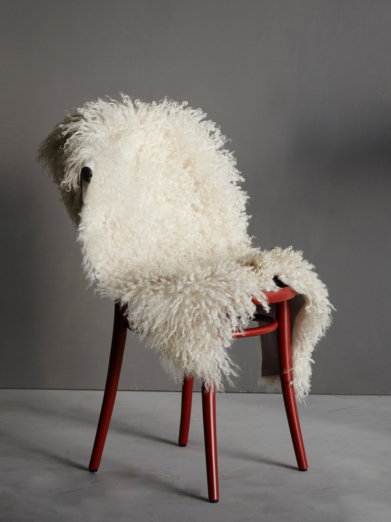 Curly Sheepskin - Off White
