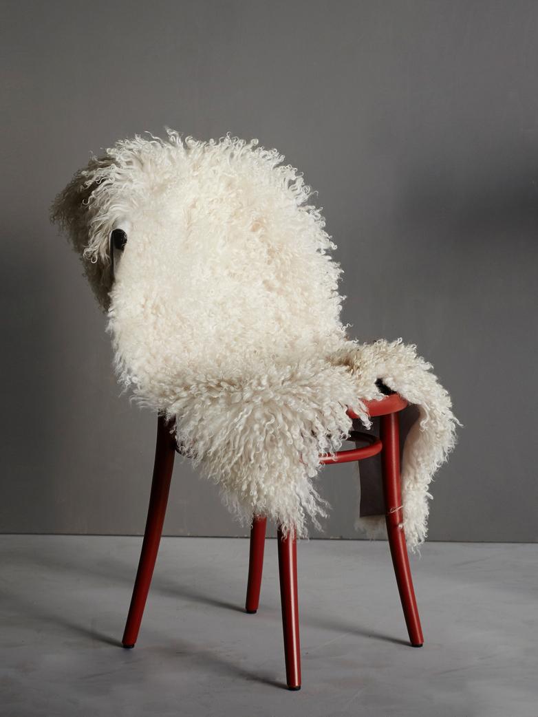 Curly Sheepskin - Off White